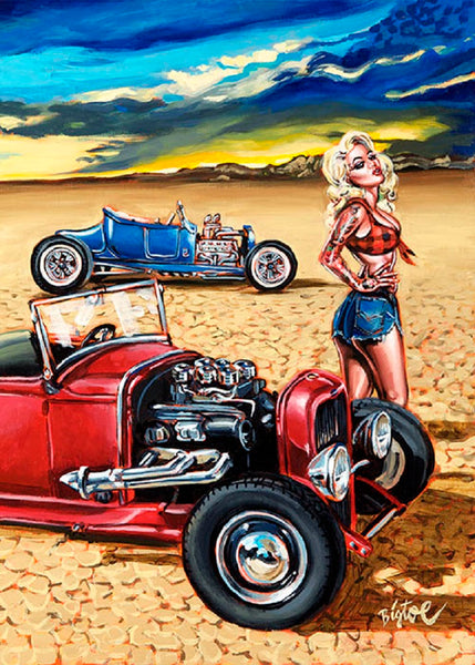 Congratulate, your Naked tattooed hot rod girls something