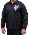 Men's Vengeance by 2 Cents Skull & Eagle Tattoo Art Windbreaker Jacket