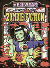 zombie fiction by allan graves vintage movie poster tattoo canvas art print monster undead  horror poster  rockabilly