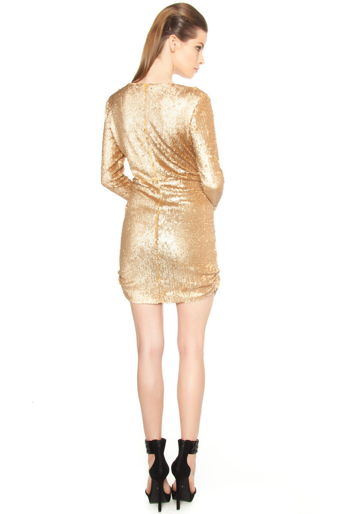 Deep V Sequin Dress - LAST ONE