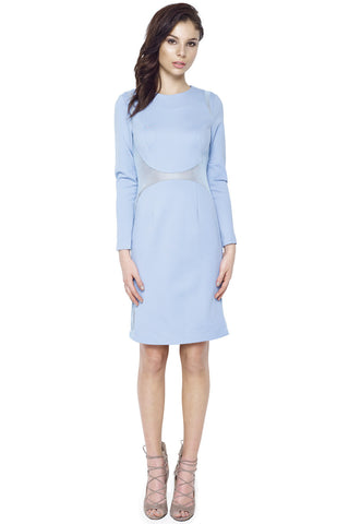 Scalloped Tea Dress