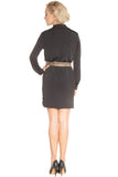 Jersey Shirt Dress Black - Dresses