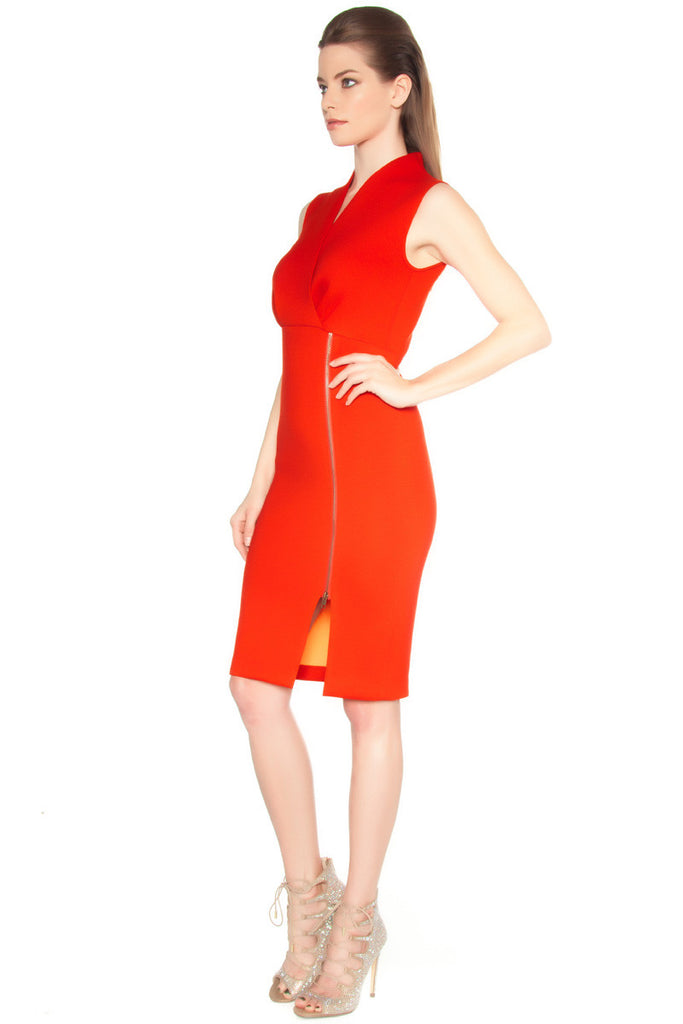 Scuba Wrap Dress - Dresses