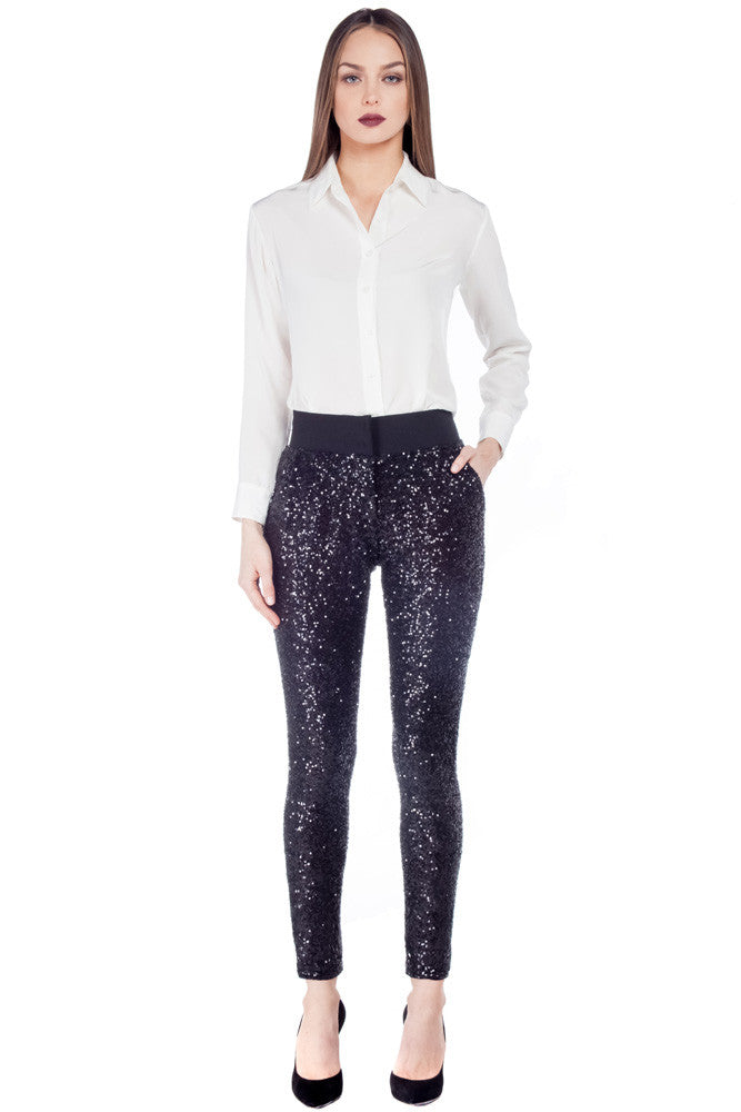 3824f05a86d32 Sequin Pant - Rachel Sin | Clothing for the Creative Professional ...