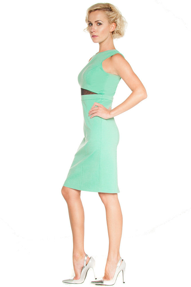 Stephano Cut Out Dress - Dresses