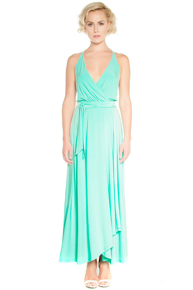 Wrap Me Up Gown - Dresses