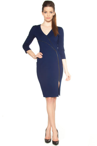 Cage Back Cut Out Dress - LAST ONE