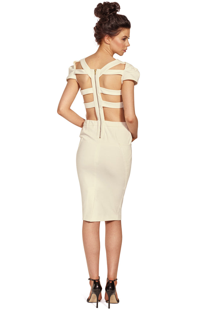 Cage Back Dress - LAST ONE