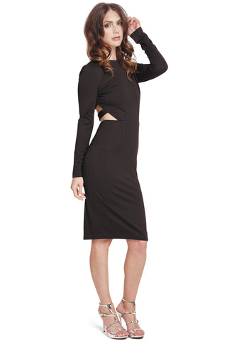 Janice Peplum Dress - LAST ONE