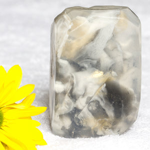 Handmade Gemstone Glycerin Soap - Essential Oils