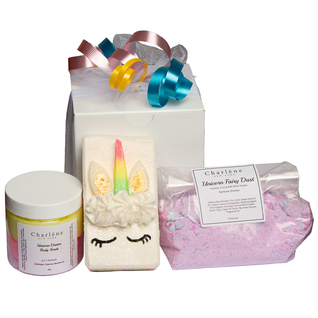 Unicorn & Rainbow Gift Set