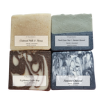 Natural Unscented Soap - Pack of 4