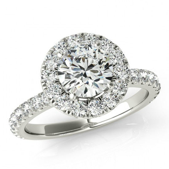 Moissanite Rings, engagement rings, round moissanite, raven fine jewelers