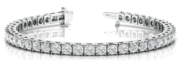 25 Carat Diamond Tennis Bracelet in Platinum