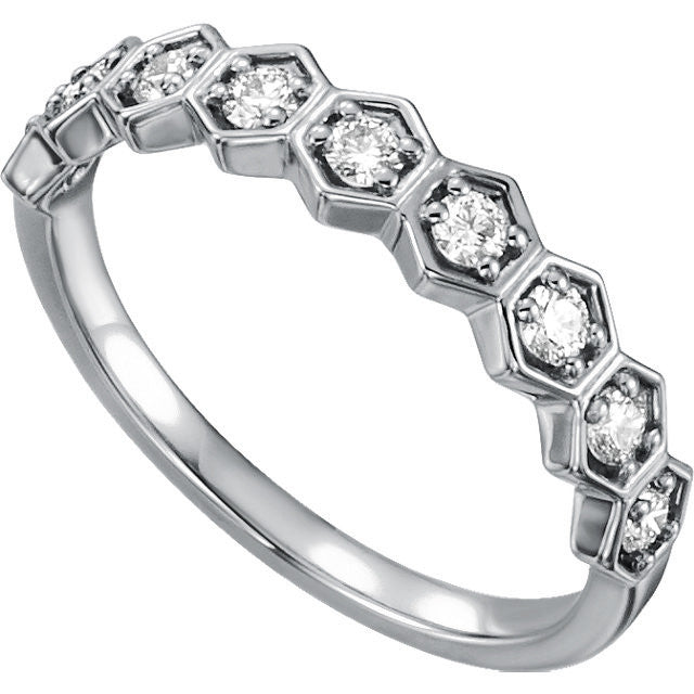 0.36 ct Diamond Stackable Ring 14k