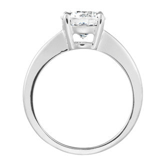 1 Carat Forever One Moissanite Solitaire Ring