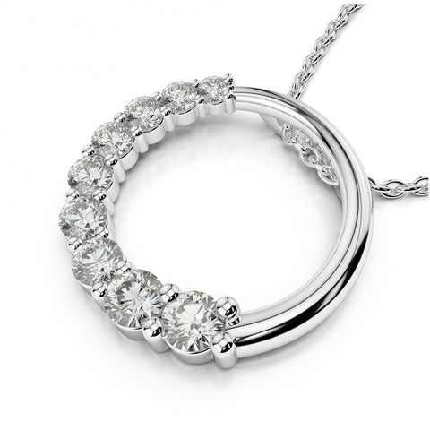 Diamond Journey of Love Necklace