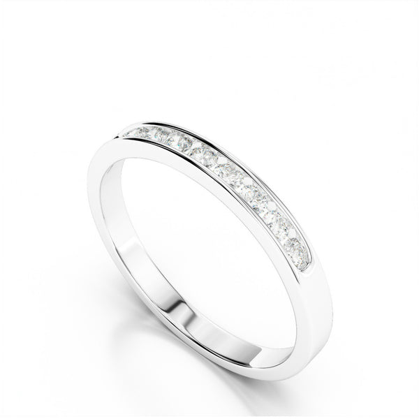0.25 ct Diamond Channel Set Band