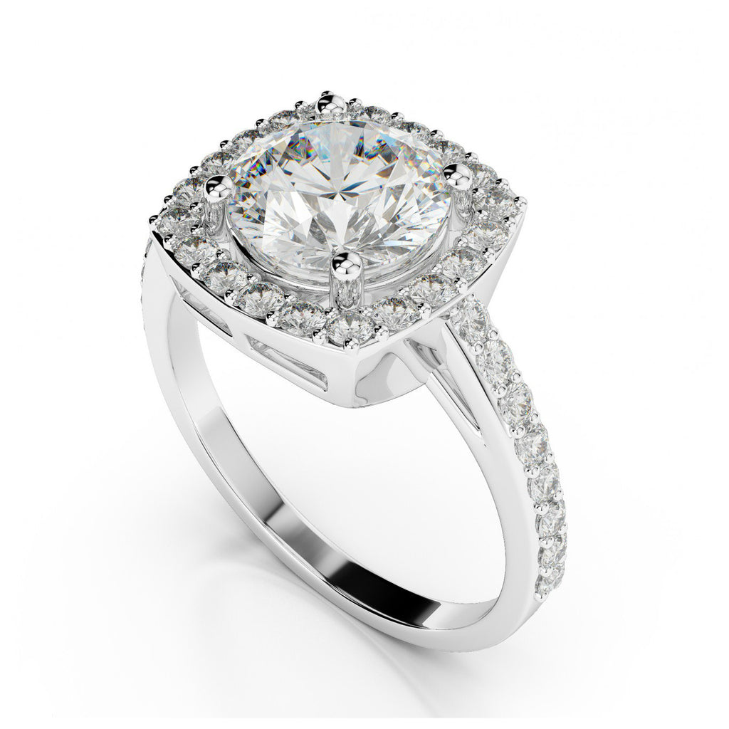 0.75 Carat Diamond Engagement Ring