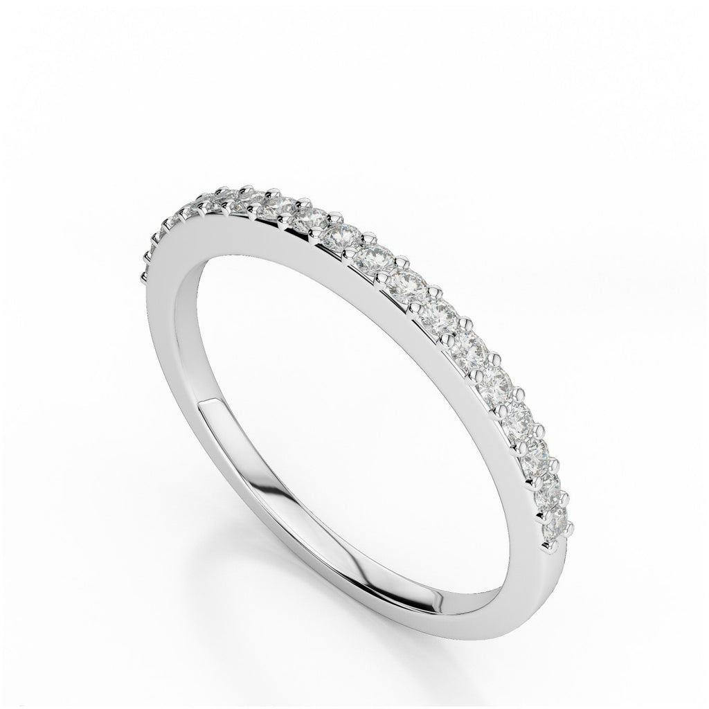 Diamond Wedding Band 0.34 ct