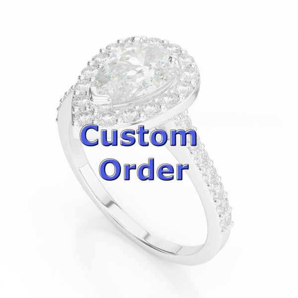 Diamond Eternity Band for S. R.