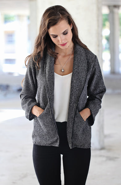 Black and White Jacket