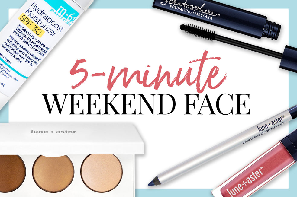 5-Minute Weekend Face - Swipe+go