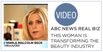 ABC News Real Biz. This Woman is Transforming the $60 Billion Beauty Industry