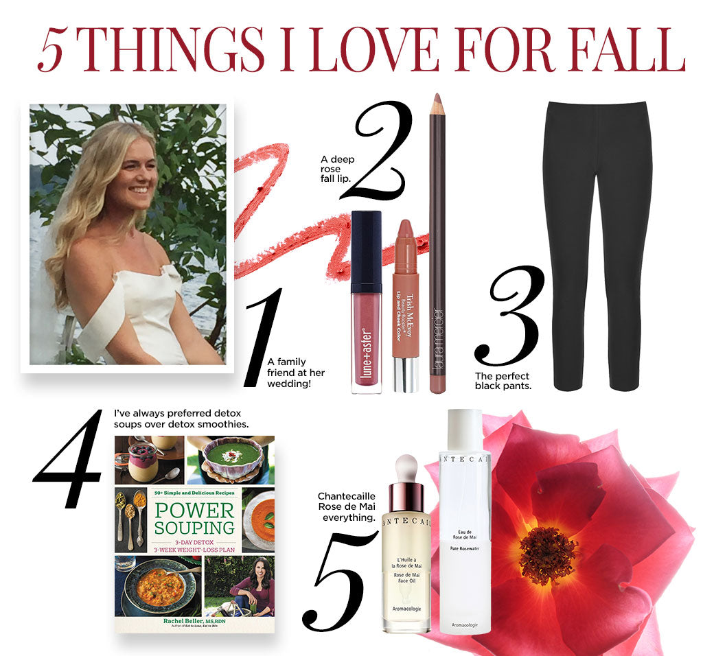 Marla's Favorite Things for Fall