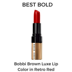 Bobbi Brown Luxe Lip Color in Retro Red