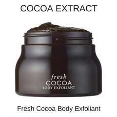 COCOA EXTRACT - Natural Body Exfoliator