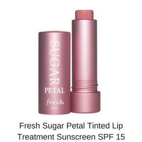 Fresh Sugar Petal Tinted Lip Treatment Sunscreen SPF 15