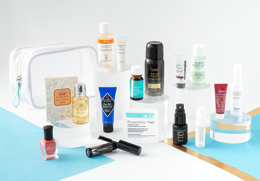 Summer Beauty Bag and contents