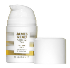 James Read Dry Face Tan - Fast Acting Self Tanning Mousse for the Face