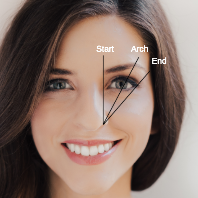 How to Identify the right Brow Shape for You