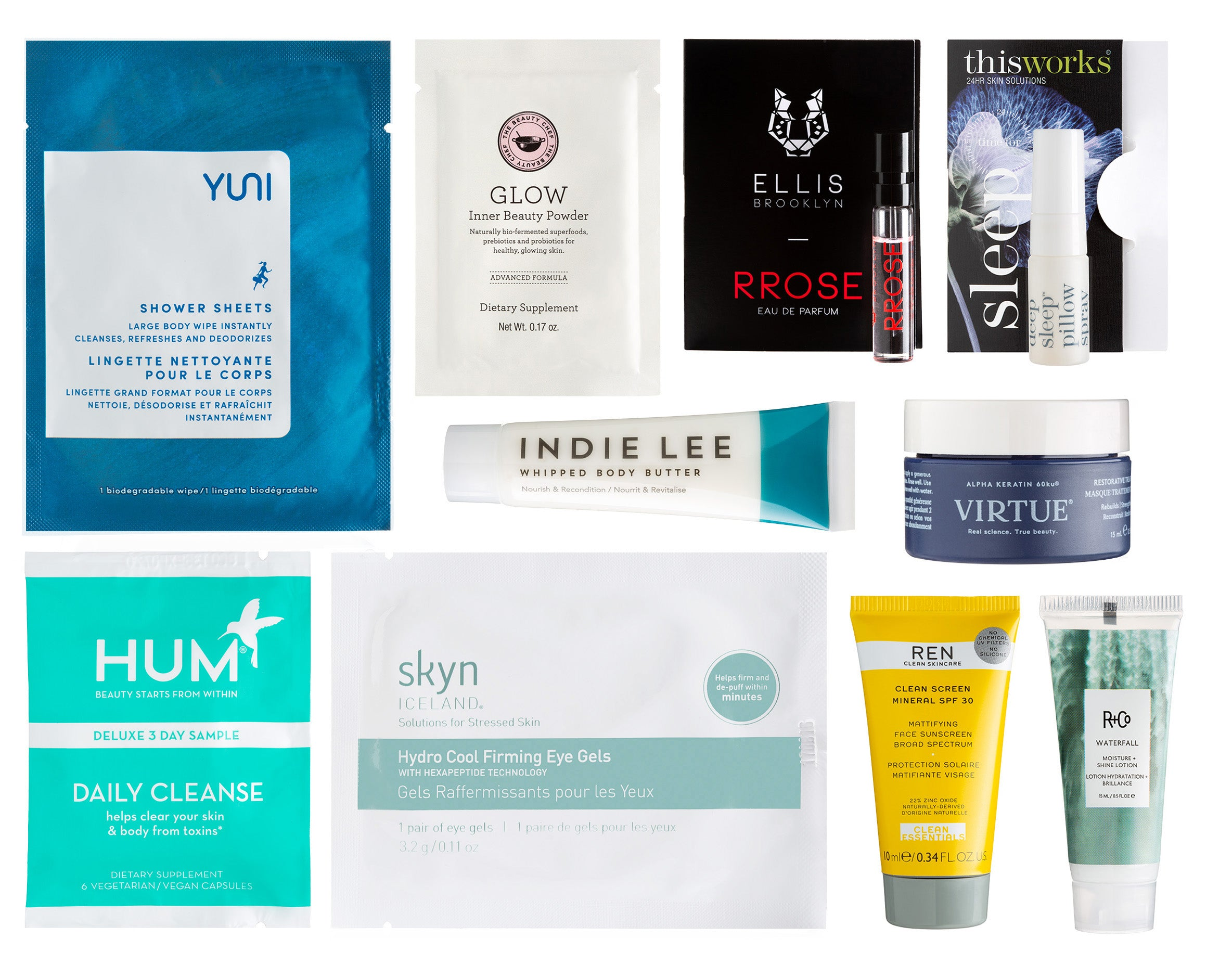 Beauty in Bloom Bag and contents