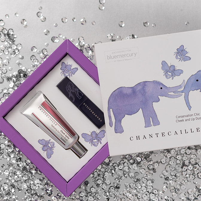 Chantecaille Conservation Chic Cheek and Lip Duo