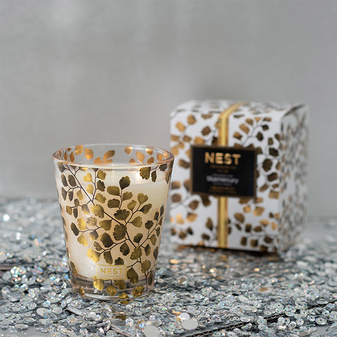 Nest Exclusive Grapefruit Gold Vessel