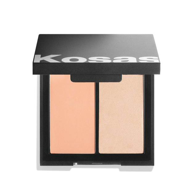 Kosas Color & Light: Crème Blush and Highlighter Duo in 8th Muse