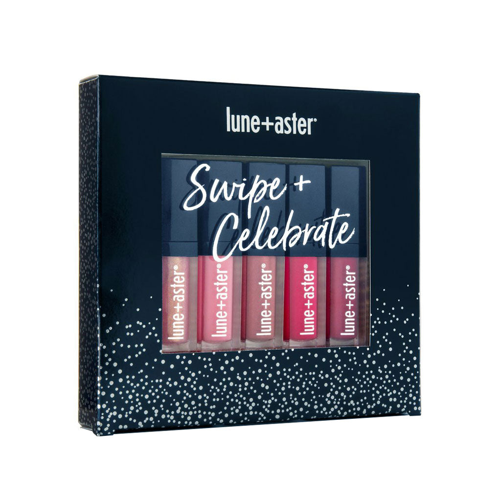 Lune+Aster Swipe+Celebrate Lip Gloss Set