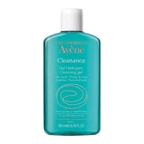 AVÈNE cleanance cleansing gel for face and body