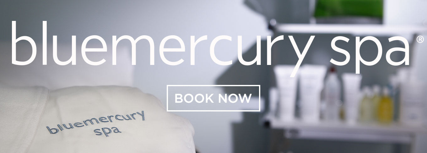 Bluemercury Spa Header