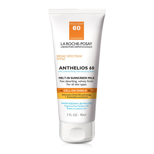 La Roche Posay Anthelios melt-in sunscreen milk spf 60 for face and body