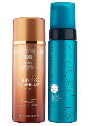 Self-Tanner for Bronzed Legs