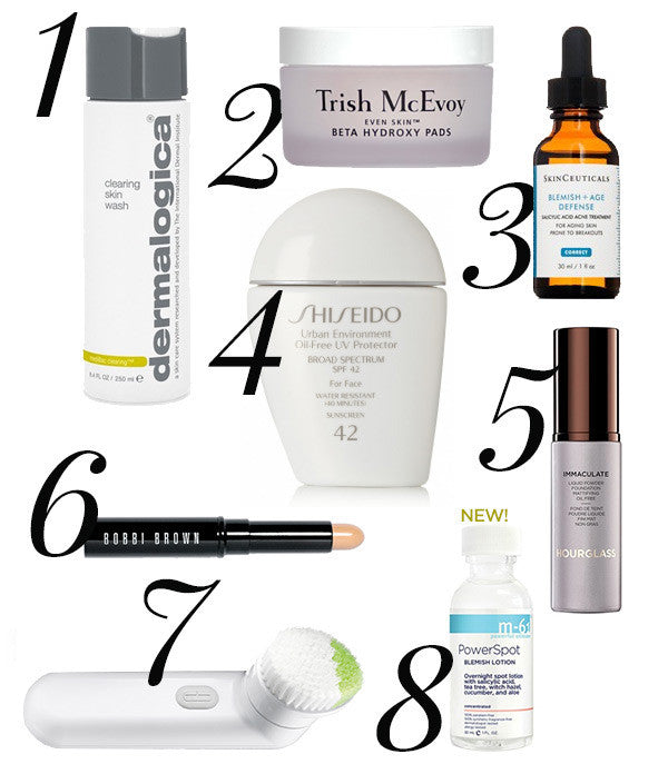 Best Products for Fighting Blemishes, Redness and Adult Acne