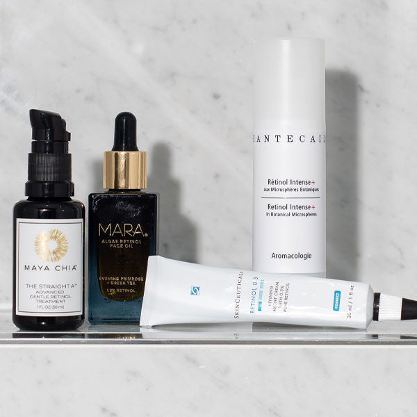 Products with Retinol