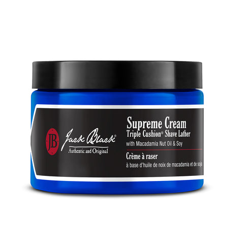 Supreme Cream Triple Cushion Shave Lather