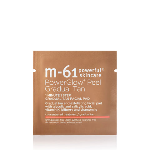 M-61 Powerglow® Gradual Tan Pad 10 Treatments