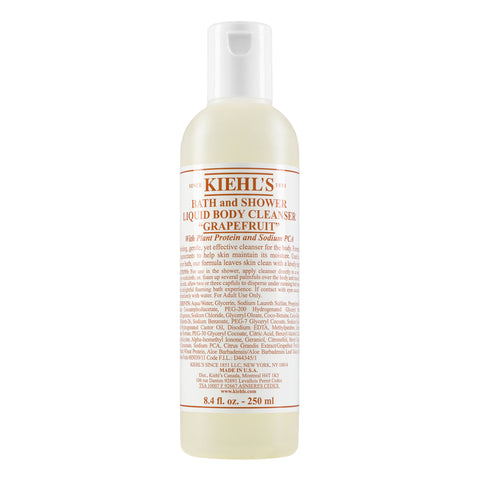 Grapefruit Bath And Shower Liquid Body Cleanser