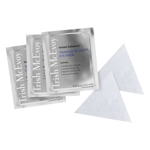 Triangle Of Light Eye Mask